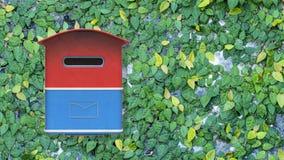 cassetta delle lettere della rappresentazione 3d con l'immagine di sfondo piacevole Fotografie Stock Libere da Diritti