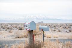 Cassetta delle lettere della strada principale Fotografia Stock