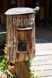 Cassetta delle lettere di legno (contenitore di posta) Fotografia Stock