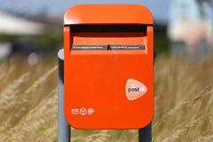 Cassetta delle lettere di PostNL fotografia stock libera da diritti
