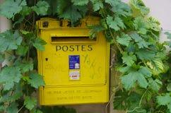 Cassetta delle lettere francese Immagini Stock Libere da Diritti