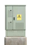Cassetta di controllo elettrica Immagini Stock Libere da Diritti