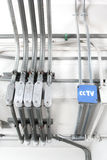 Cassetta di controllo elettrica Fotografia Stock