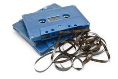 Cassetta di nastro Fotografie Stock Libere da Diritti