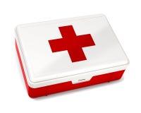Cassetta di pronto soccorso illustrazione di stock
