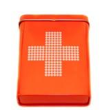 Cassetta di pronto soccorso Immagini Stock