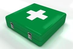 Cassetta di pronto soccorso Immagine Stock