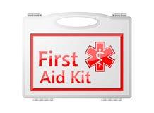 Cassetta di pronto soccorso; Attrezzatura medica Immagine Stock Libera da Diritti