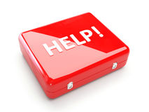 Cassetta di pronto soccorso (GUIDA) Fotografie Stock Libere da Diritti