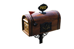Cassetta postale Immagini Stock