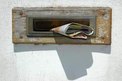 Cassetta postale Fotografie Stock Libere da Diritti
