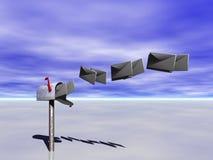 Cassetta postale. Immagini Stock