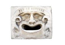 Cassetta postale antica a Pisa Fotografia Stock Libera da Diritti