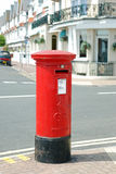 Cassetta postale britannica Immagine Stock