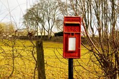 Cassetta postale britannica Fotografie Stock