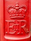 Cassetta postale britannica Immagini Stock