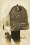 Cassetta postale degli Stati Uniti dell'annata Fotografie Stock
