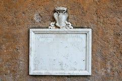 Cassetta postale di marmo dell'annata Fotografia Stock