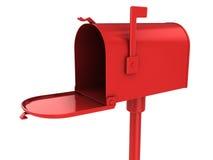 Cassetta postale rossa illustrazione vettoriale