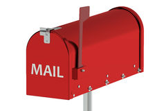 Cassetta postale rossa Immagine Stock