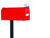 Cassetta postale rossa Fotografia Stock Libera da Diritti