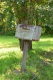 Cassetta postale rurale fotografia stock