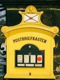 Cassetta postale tedesca storica Immagini Stock Libere da Diritti