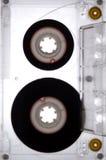 Cassette éclairée à contre-jour par la lumière blanche Photographie stock libre de droits