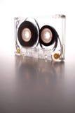 Cassette éclairée à contre-jour par la lumière blanche II Photos stock