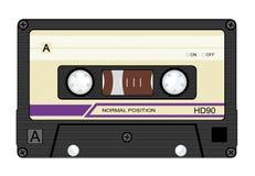 Cassette royalty free illustration