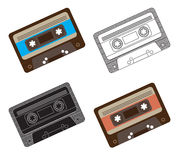 Cassette Royalty Free Stock Photos