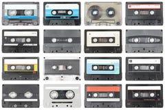Cassette audio Immagini Stock
