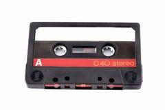 Cassette audio Imagen de archivo libre de regalías