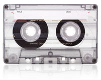 Cassette audio. Fotos de archivo libres de regalías