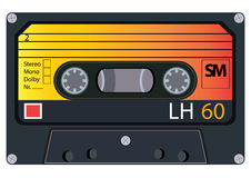 Cassette audio d'annata Fotografia Stock