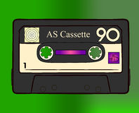 Cassette. This is Audio System Cassette Royalty Free Stock Image