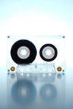 Cassette backlit by green light Stock Image