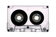 Cassette de la cinta de audio - puesto a contraluz imagenes de archivo