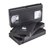 Cassette de VHS Images stock