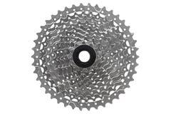 Cassette de vitesse du vélo de montagne 10 Photographie stock libre de droits