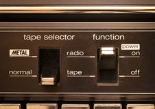 Cassette deck Royalty Free Stock Image