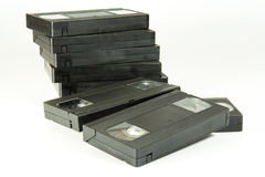 Cassette del Vhs imagenes de archivo