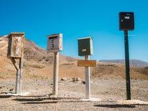Cassette delle lettere postali d'annata Fotografie Stock Libere da Diritti