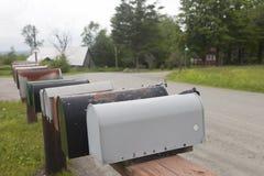 Cassette delle lettere rurali Immagini Stock