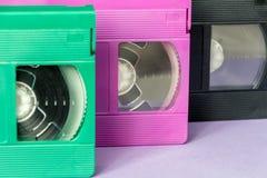 Cassette di VHS Fotografia Stock