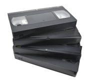 Cassette fan-shaped pile Royalty Free Stock Image