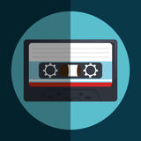 Cassette icon design Stock Photos