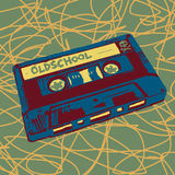 Cassette illustration Royalty Free Stock Photography