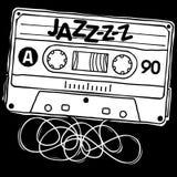 Cassette Jazz Stock Photo