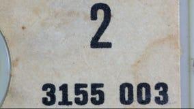 Cassette macro audio Royalty Free Stock Photo